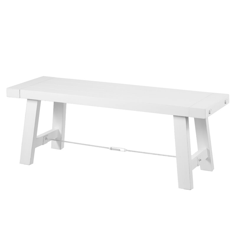 Charest Wood Bench