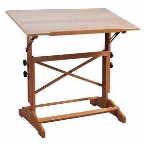 Pavillon Wood Drawing Table