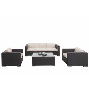 4-tlg. Loungemöbel-Set Brax von dCor design