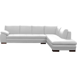 Jerald Leather Sectional