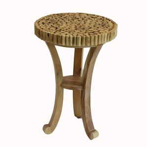 Teak Branch End Table by Baum