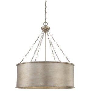 Conick 3-Light Drum Pendant