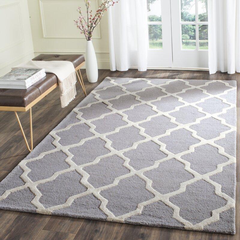 sugar pine handtufted gray area rug