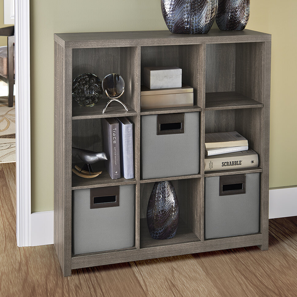 & ClosetMaid Decorative Storage Cube Unit Bookcase u0026 Reviews | Wayfair