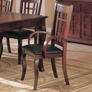 Ovard Sturdy Wood Upholstered Dining Chair (Set Of 2)