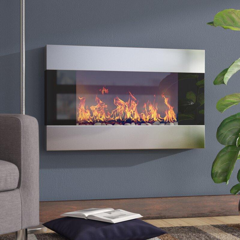 Fantastic Wall Mounted Fake Fireplace Charming Fireplace Download Free Architecture Designs Intelgarnamadebymaigaardcom