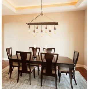 Baez 7 Light Rectangle Chandelier