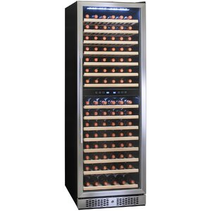 160 Bottle Dual Zone Built-In Wine Cellar by AKDY