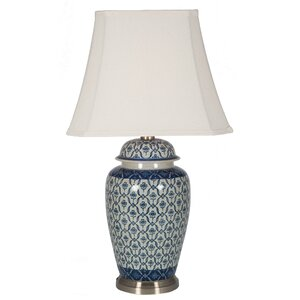 Chinoiserie east asian table lamps wayfair chika porcelain ginger jar 73cm table lamp mozeypictures Choice Image