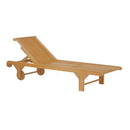 Solid Wood Outdoor Chaise Lounges Perigold