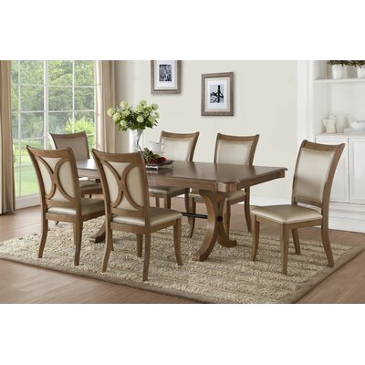 Beautiful Visconti 7 Piece Dining Set