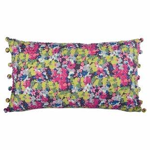 Azalea Cotton Lumbar Pillow. By Karma Living