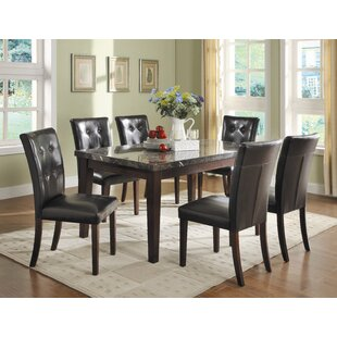 Petrosky 7 Piece Counter Height Dining Set