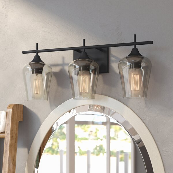 Zipcode Design Staci 3-Light Vanity Light & Reviews