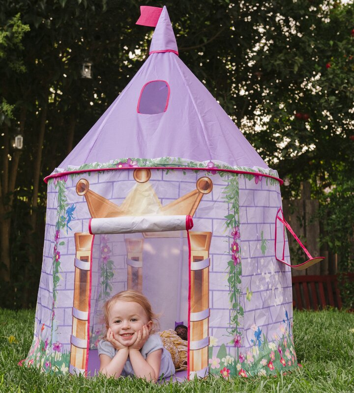 Tentsy Princess Castle Play Tent  sc 1 st  Wayfair & Checkey Limited Tentsy Princess Castle Play Tent u0026 Reviews | Wayfair