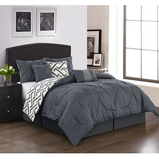 b1ded68f06 Comforter Gray & Silver Bedding You'll Love | Wayfair