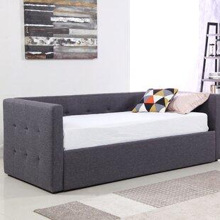 Bridgeyate Linen Fabric 3 Seater Fold Out Sofa Bed