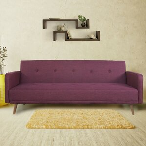 Aldana 3 Seat Fabric Convertible Sofa by Cor..