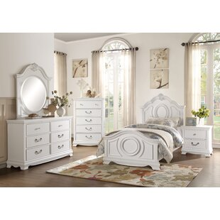 White furniture bedrooms High Gloss Offerman Panel Configurable Bedroom Set The Spruce Kids Bedroom Sets