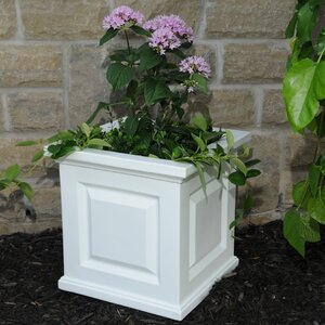 Nantucket Self-Watering Plastic Planter Box