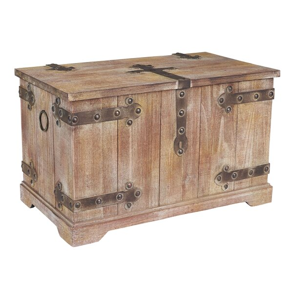 Exceptionnel Household Essentials Large Victorian Storage Trunk U0026 Reviews | Wayfair