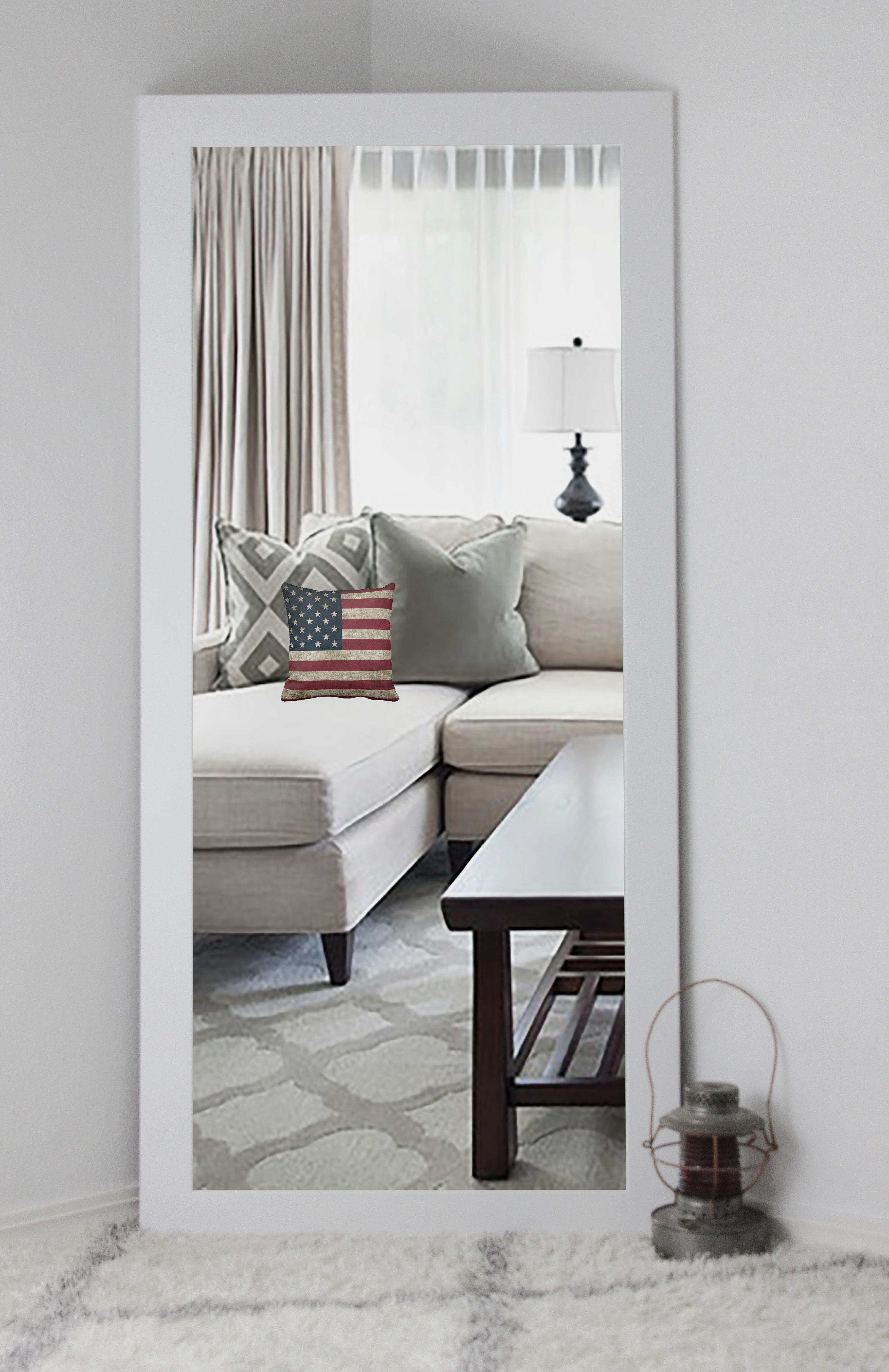 Zipcode Design Kittle Classic White Vanity Wall Mirror & Reviews ...
