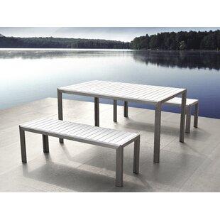 6 Seater Dining Set  sc 1 st  Wayfair & Garden Table And Bench Sets | Wayfair.co.uk