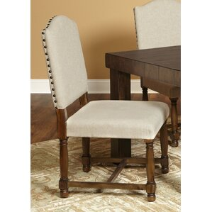 Burnsfield Upholstered Top Side Chair (Set of 2) by Gracie Oaks