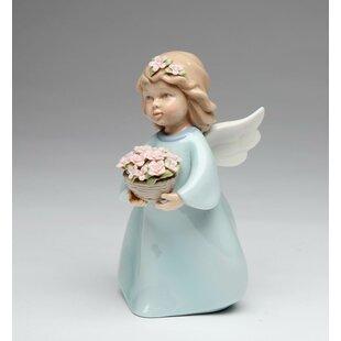 Grimmett U0027A Basket Of Thanksu0027 Angel Figurine