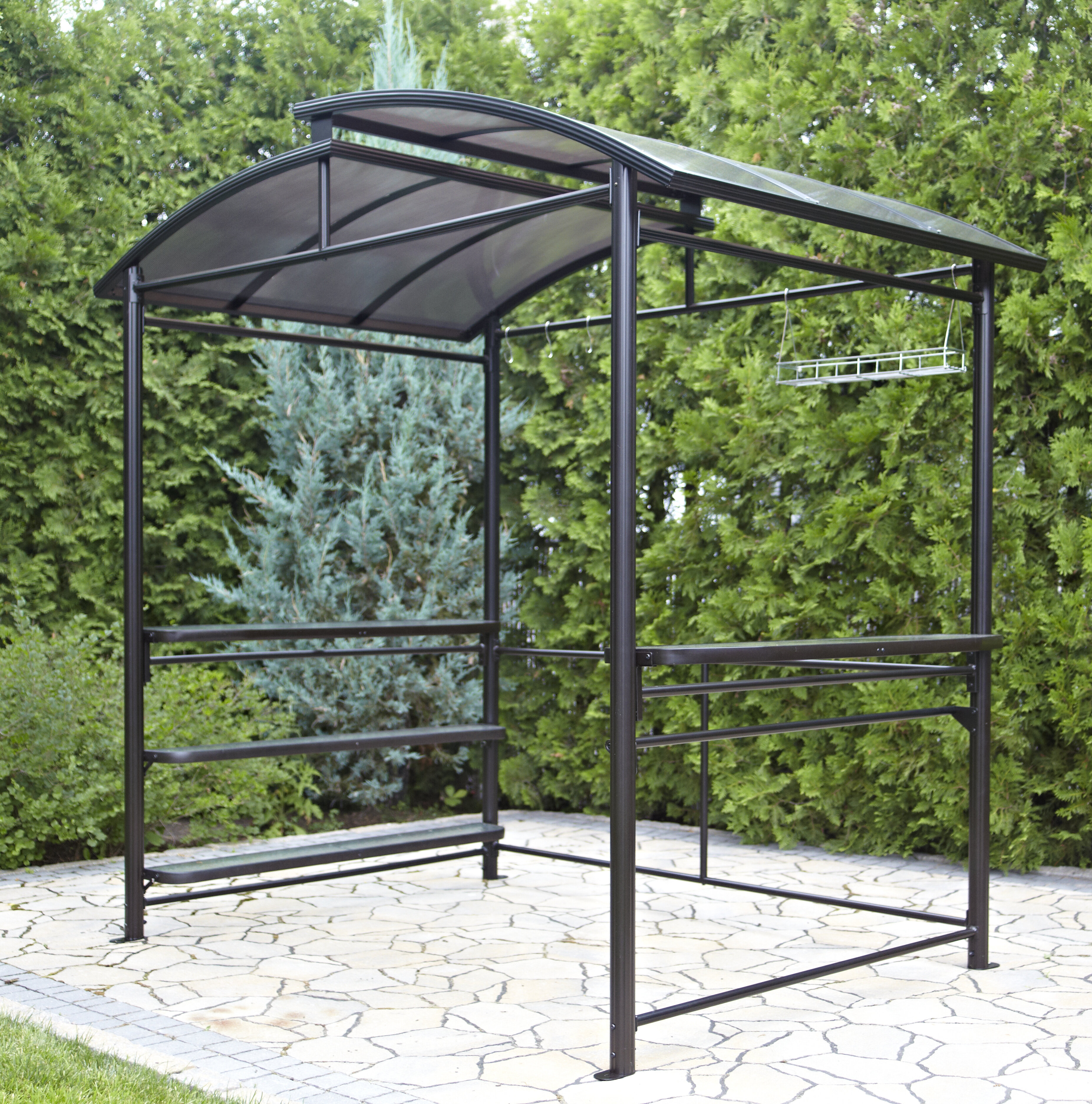 about chandelier creative gazebo french grill pinterest awning outdoor bbq ideas on best