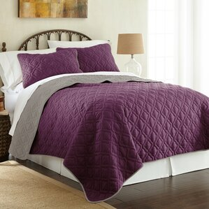 Bedroom Sets Purple purple bedding sets you'll love | wayfair