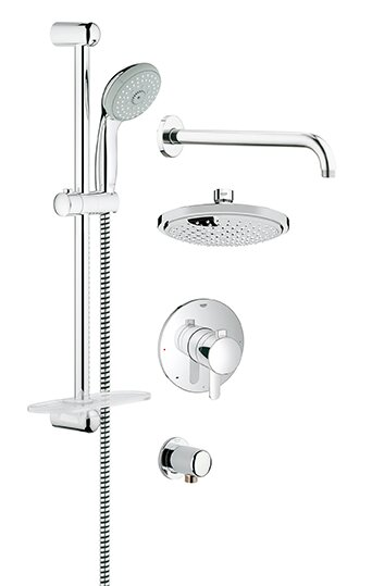 Grohe GrohFlex Pressure Balance Shower Faucet & Reviews | Wayfair