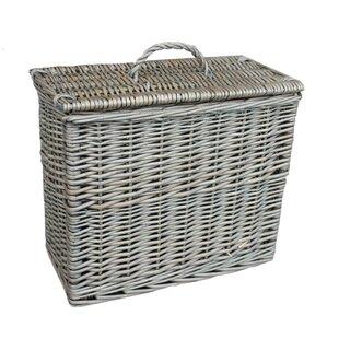 Exceptionnel Toilet Tidy Lidded Wicker Basket