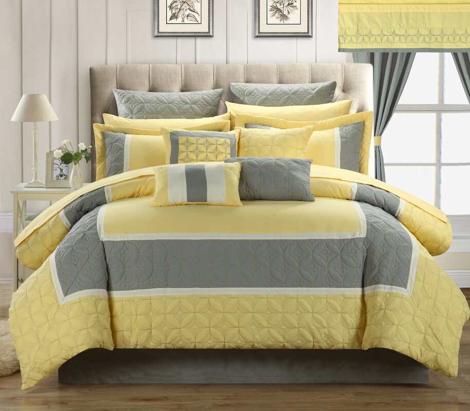 Chic Home Aida Queen 24 Piece Comforter Set Amp Reviews