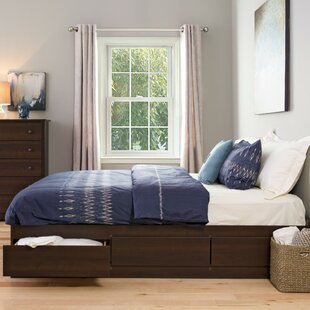 king bed with drawers. Haycraft King Storage Platform Bed With Drawers D