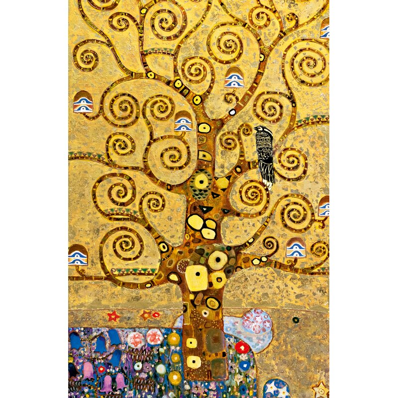Brewster Home Fashions Ideal Decor Tree of Life Wall Mural | Wayfair