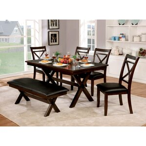Bexley 5 Piece Dining Table Set by Alc..