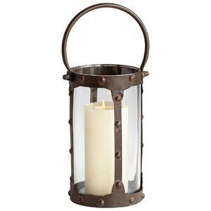 Borin Iron/Glass Lantern