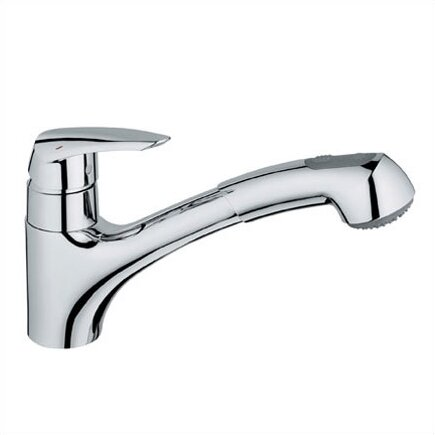 Eurodisc Standard Single Handle Kitchen Faucet With SilkMove®