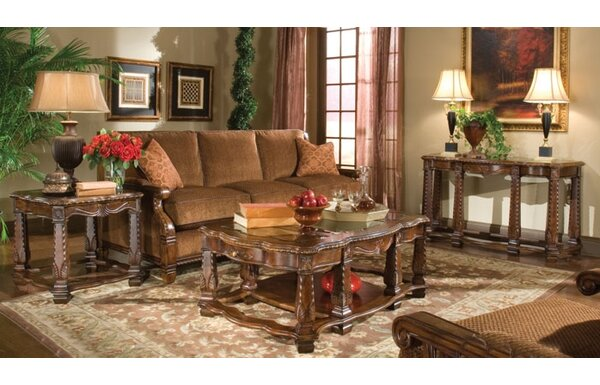 Michael Amini Windsor Court Coffee Table Set U0026 Reviews | Wayfair