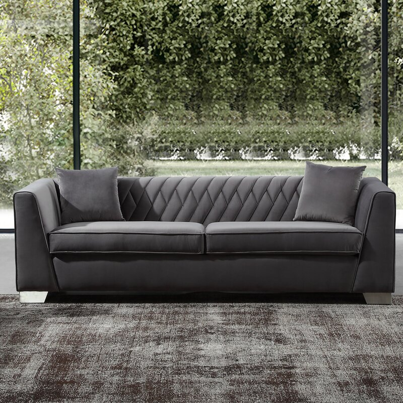 Brayden Studio Gagnon Contemporary Sofa & Reviews | Wayfair