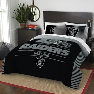 NFL Draft 3 Piece Full/Queen Comforter Set