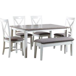 Amaury 6 Piece Dining Set