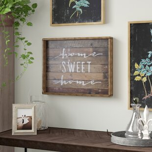 Home Sweet Sign Wall Decor