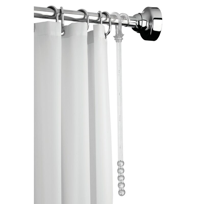 Space Saver 188cm Curved Fixed Shower Curtain Rail