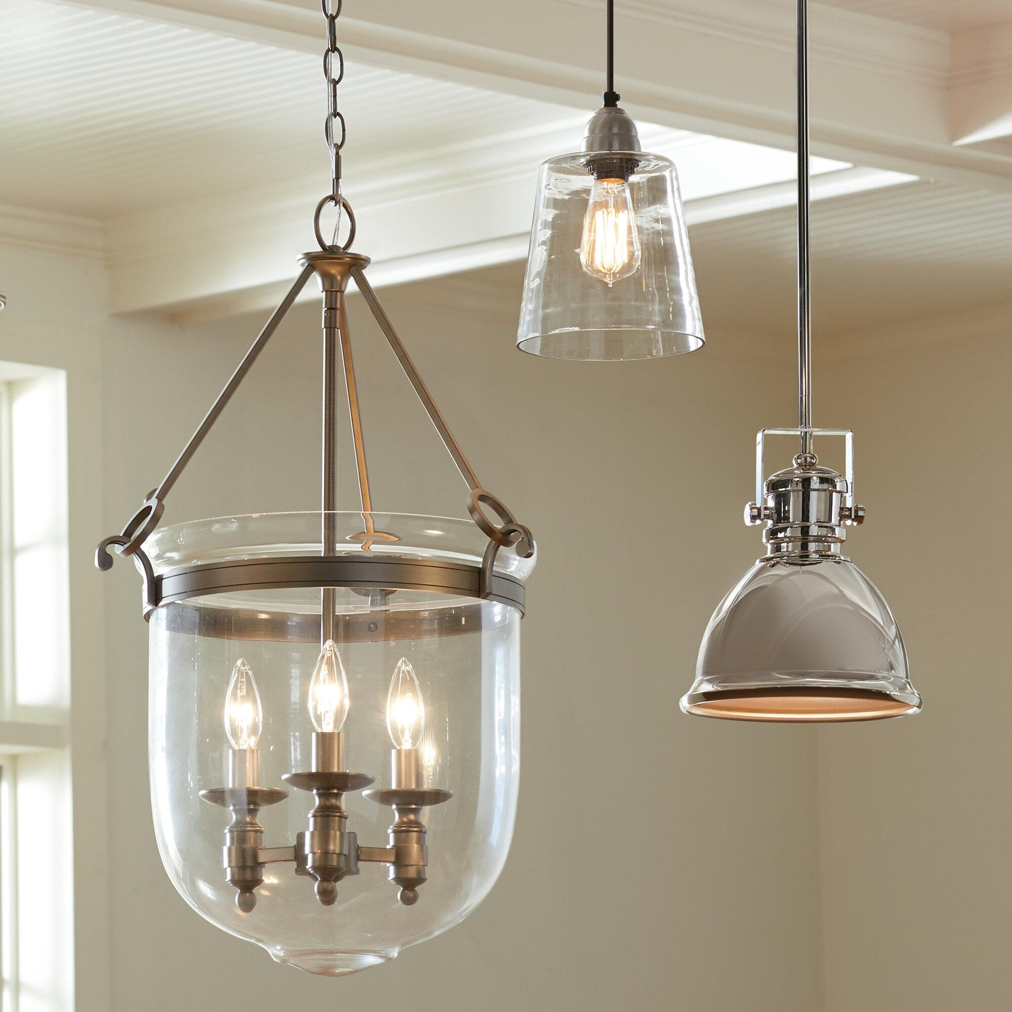 wholesale dealer 94b03 0b056 Gaetano 3-Light Single Urn Pendant