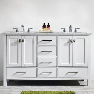 White Shaker Bathroom Vanity | Wayfair
