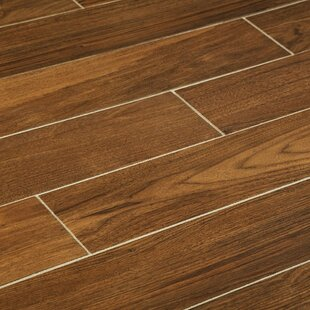 6 X 36 Porcelain Wood Look Tile In Gunstock