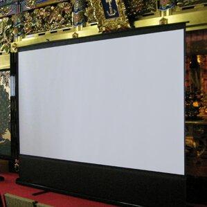 "ezCinema White 100"" Diagonal Portable Projection Screen"