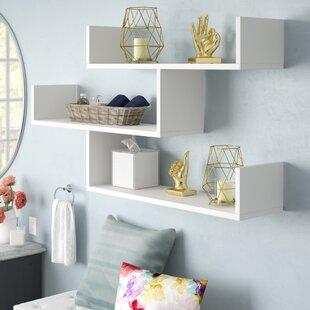 Bedroom Wall & Display Shelves You\'ll Love | Wayfair